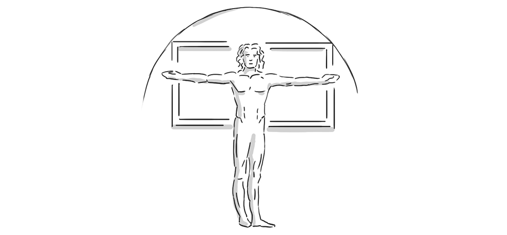 vitruvian display