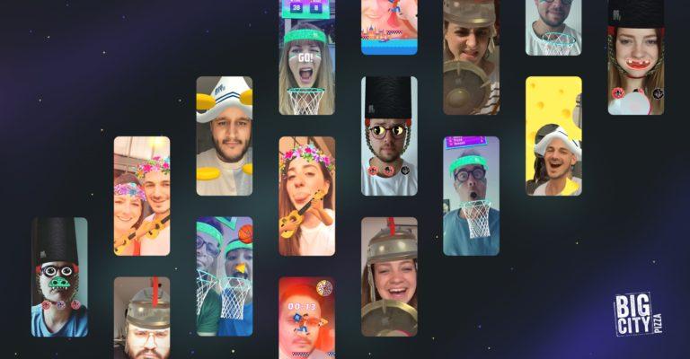 So werden Nutzer spielend satt: Demodern entwickelt für Nestlé Wagner Augmented Reality Filter und Games für Instagram und Facebook