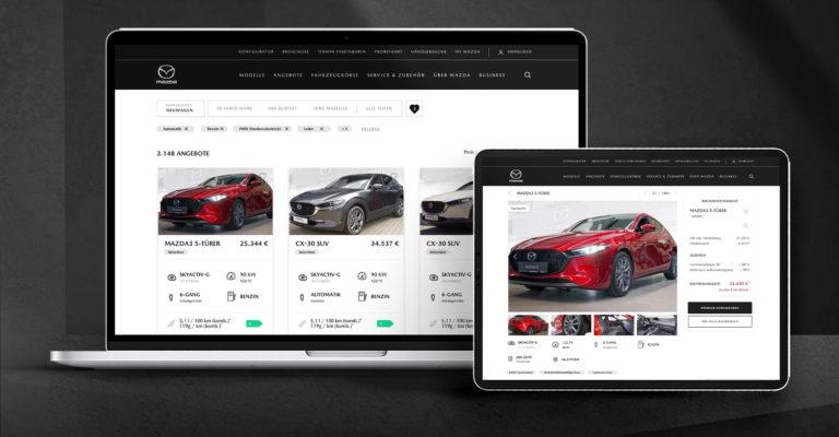 """Mazda: Relaunch der digitalen Fahrzeugbörse """"FindMyMazda"""""""