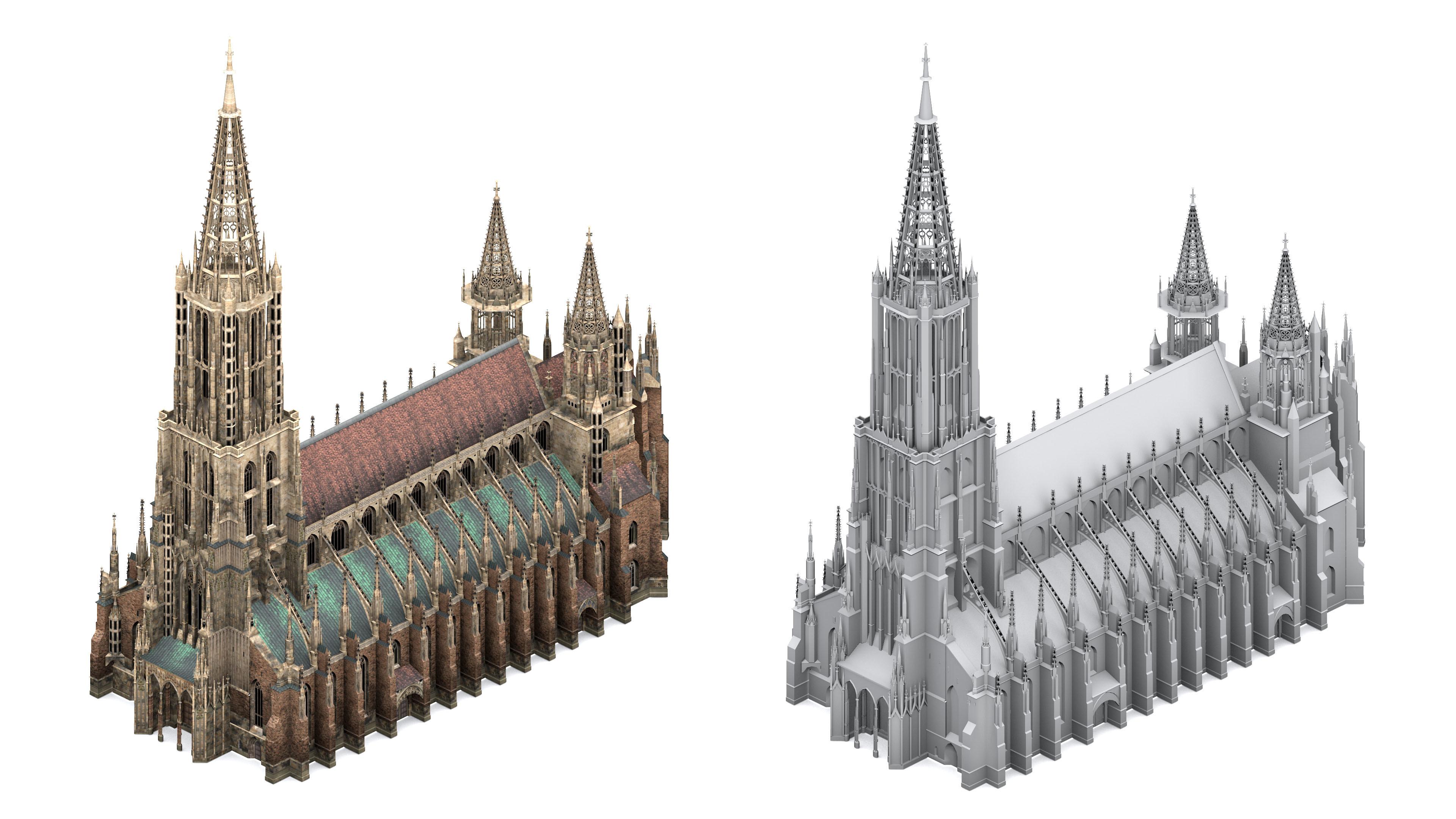 Minster Model Texture