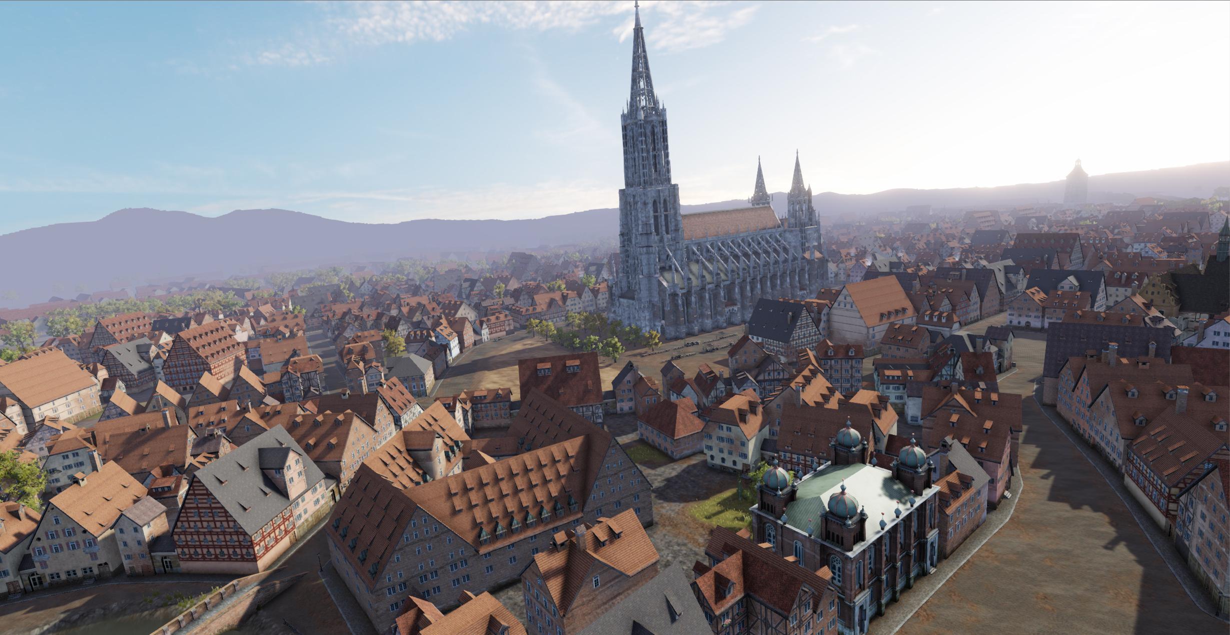 Ulm Flight View