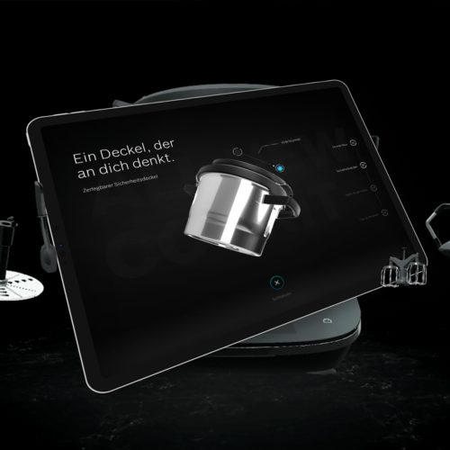 Bosch Home Appliances Produktpräsentation in 3D-Echtzeit