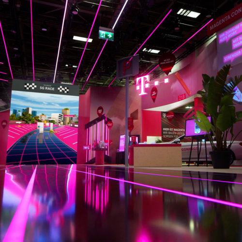 Telekom 5G - Interaktive Spiele