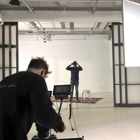 Square Film Shooting