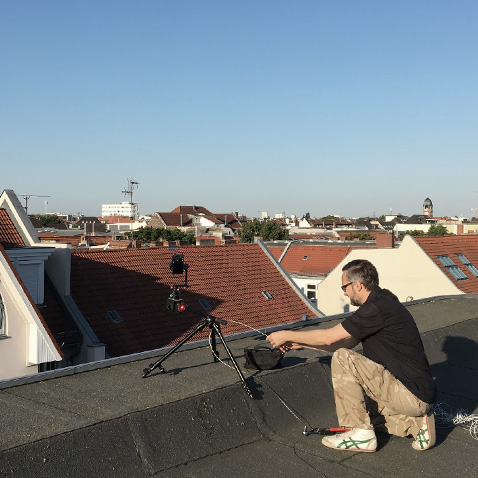 Square Shooting Roof