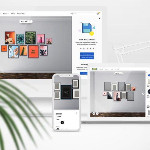 IKEA Interaktiver 3D Wanddeko Planer