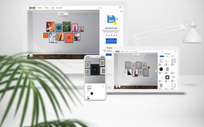 IKEA Interactive 3D Wallspace Planner