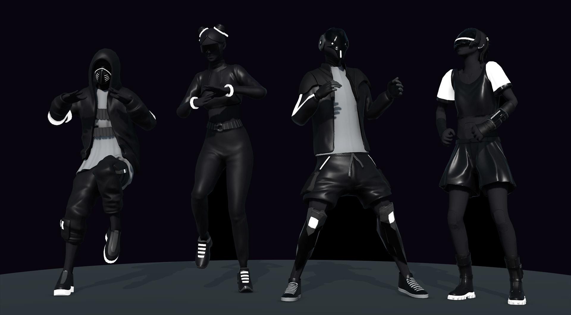 Kts character dancing