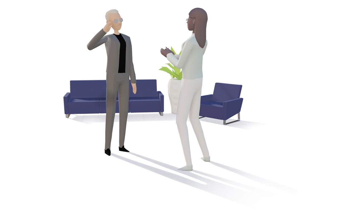 Connecting People in an Immersive Experience