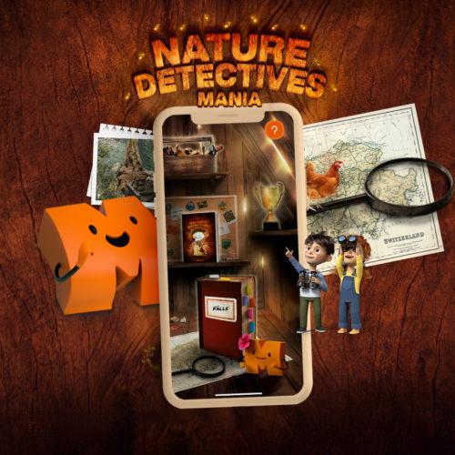 Migros 3D Detektiv-Abenteuer App