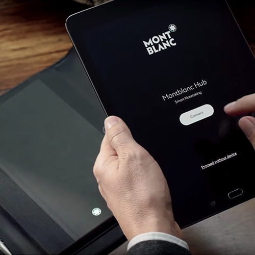 Montblanc Augmented Paper Hub App