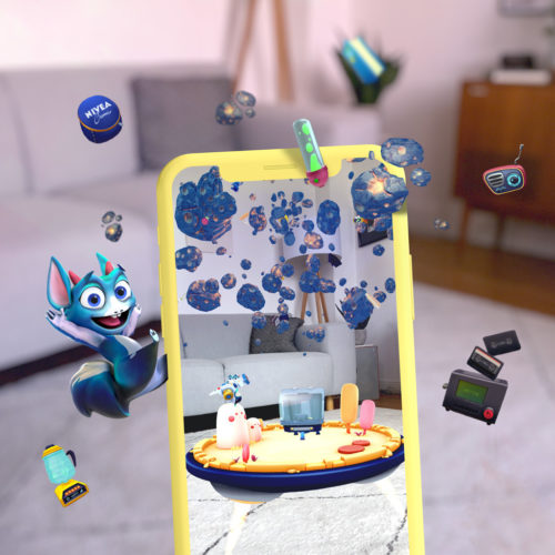 NIVEA Nivi's World – AR Storytelling App