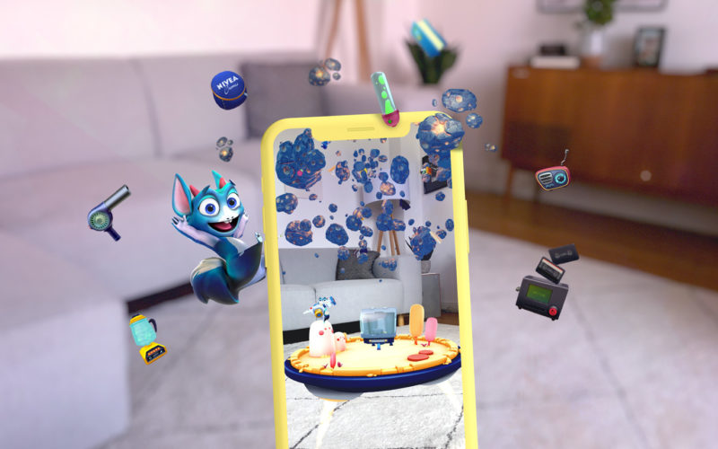 NIVEA Nivi's World - AR Storytelling App