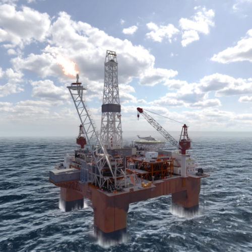 Dräger Offshore Rig VR Experience