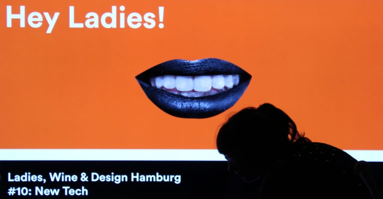 "Ladies, Wine & Design Hamburg #10: ""New Tech"" panel in our Werkhalle"