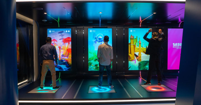 New Customer Royal Caribbean: Demodern develops an interactive video game
