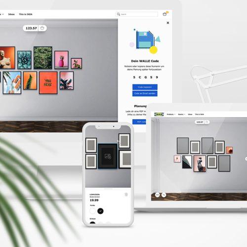 3d Room Planner Ikea: Inside Our IKEA Interactive 3D Wallspace Planner