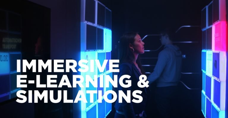 Immersive E-Learning and Simulations