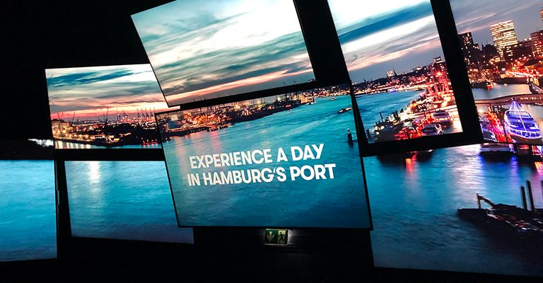 """Demodern - Creative Technologies"" develops an interactive micro amusement park at the Port of Hamburg"